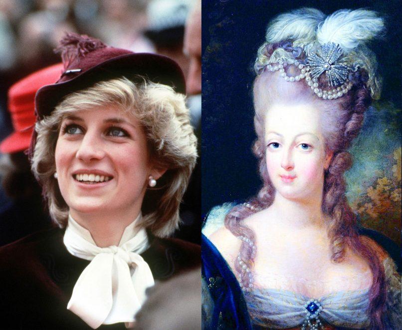 Princess Diana and Marie Anton
