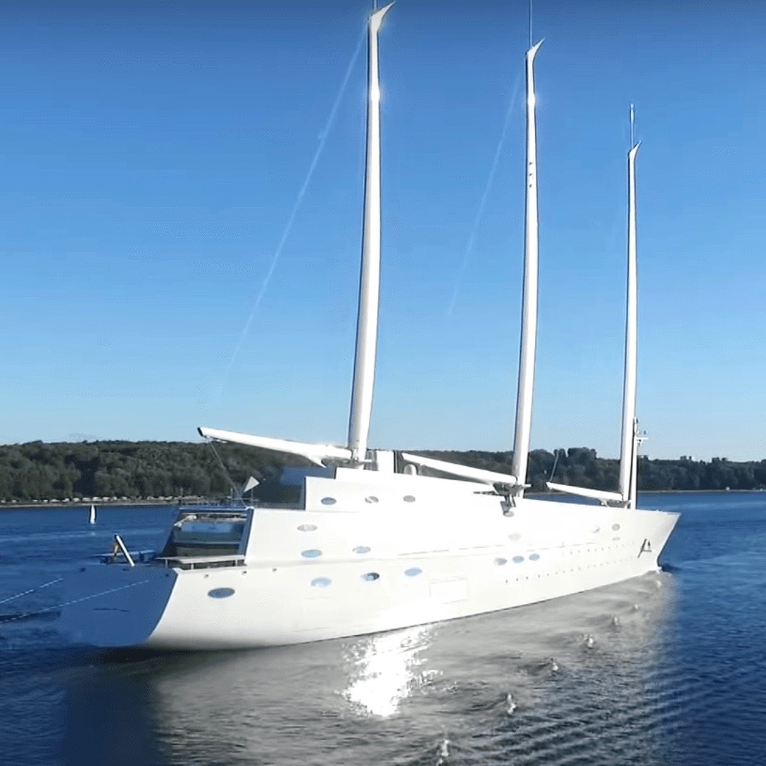 The Sailing Yacht A Is Not Your Average Superyacht