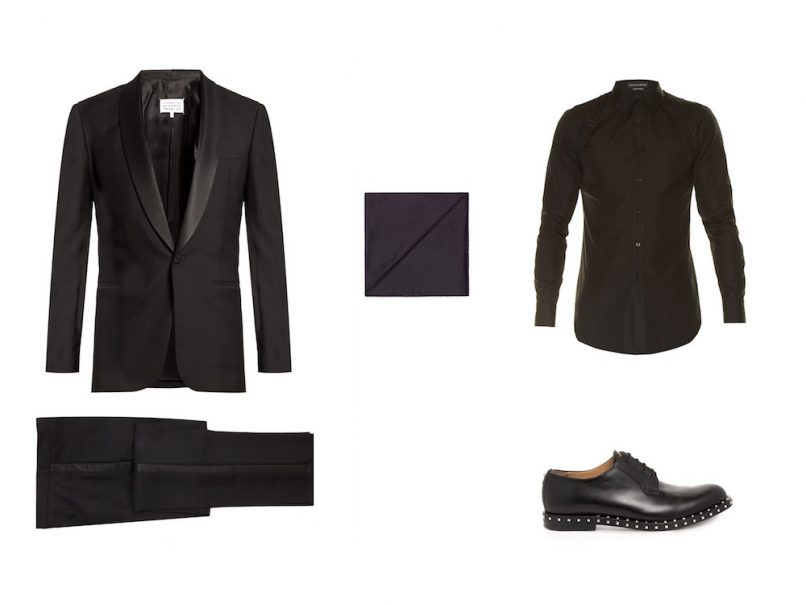 the guyde - how to wear suits - man in black