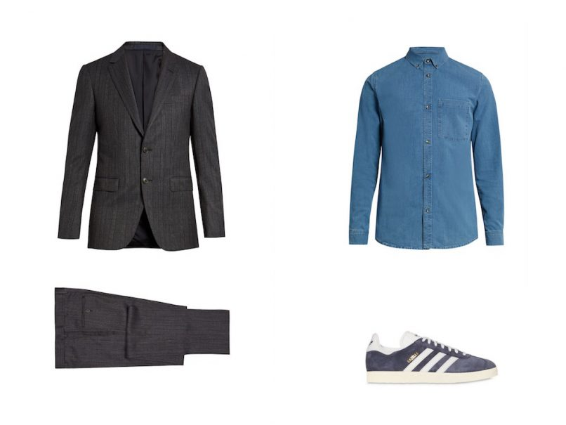 the guyde - how to wear suits - weekend
