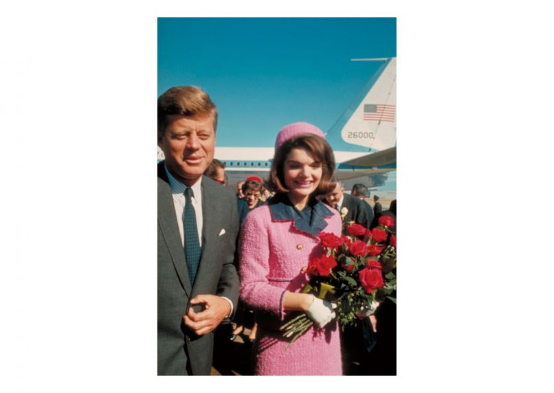 Jackie Kennedy in Chanel.