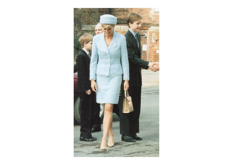 Princess Diana in Chanel.