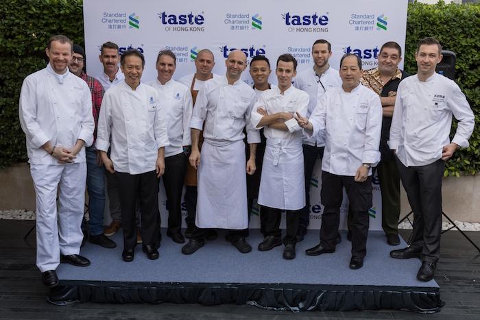 Taste of Hong Kong 2017_chefs photo