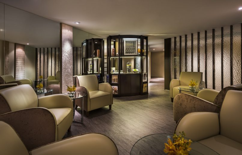 The Fullerton Spa (Relaxation lounge)