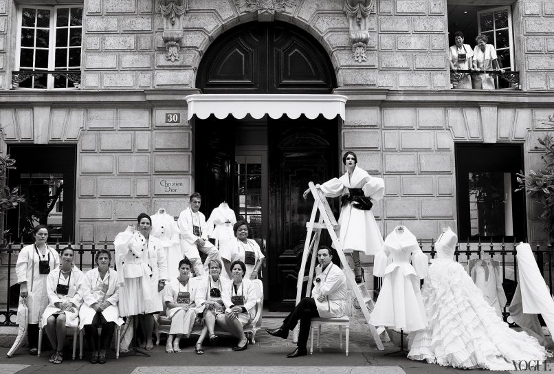 Christian Dior couture fashion show