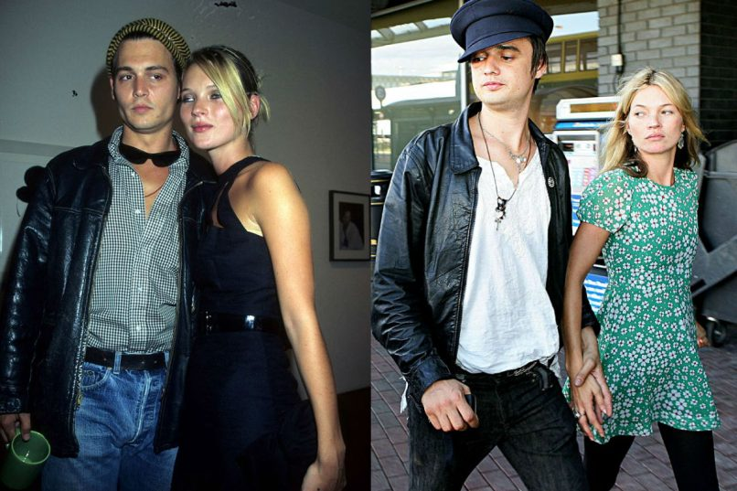 Kate moss relationships