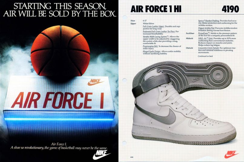 The history behind the hype: Nike Air Force 1s Lifestyle