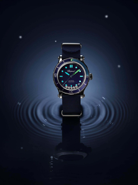 Chopard Happy Ocean dive watch
