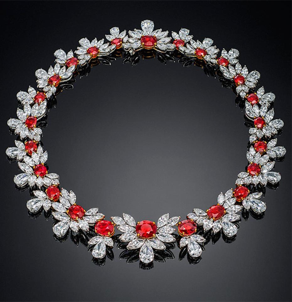 The Grand Phoenix ruby necklace