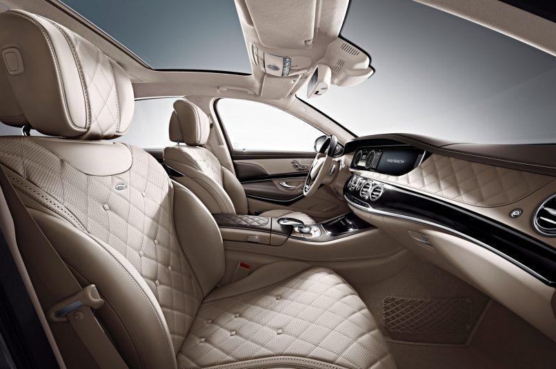 Mercedes-Maybach S600 Interior