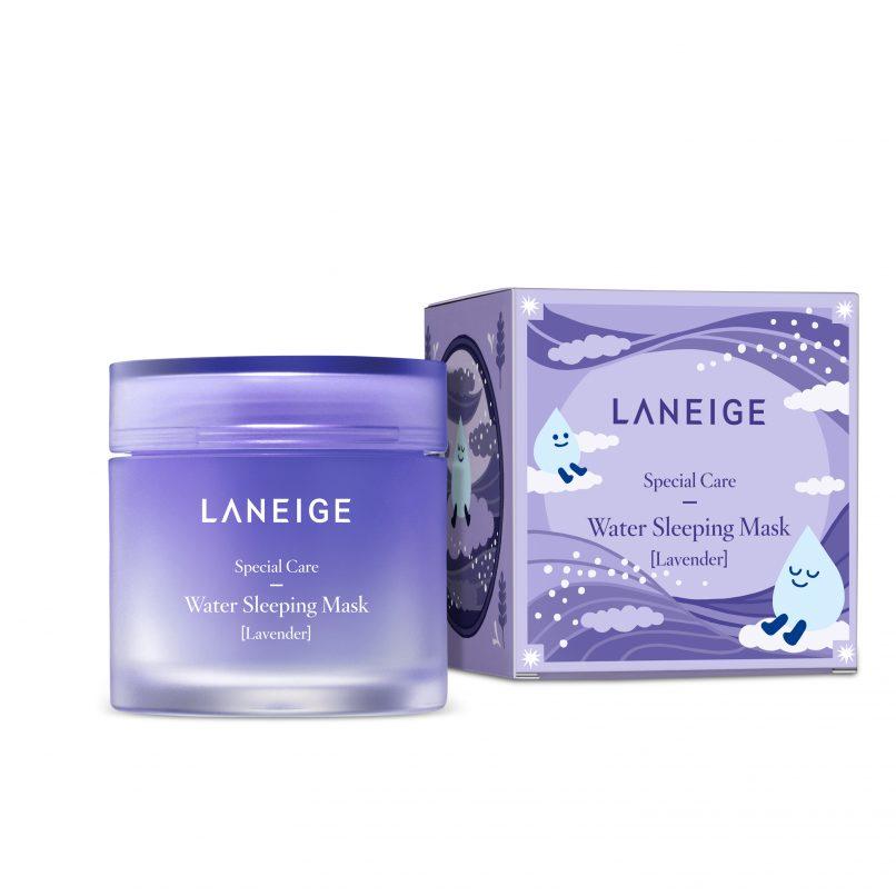 laniege lavender water sleeping mask beauty road 2017