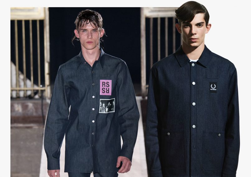 b69a896132 Raf Simons  new Fred Perry collab is a stripped-down version of his ...