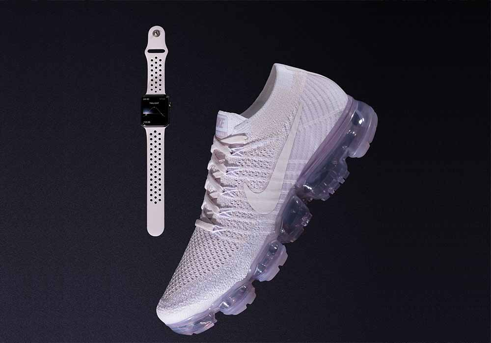 """d7dd1ea63c Nike launches """"Day to Night"""" VaporMax Flyknit shoes with matching Apple  Watch bands"""