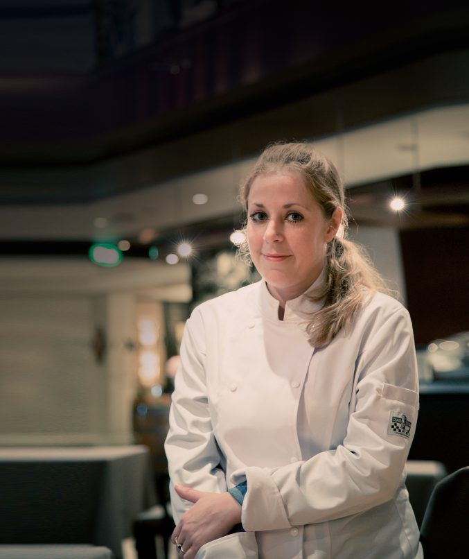 Chef Roxanne Lange at The Reflexions