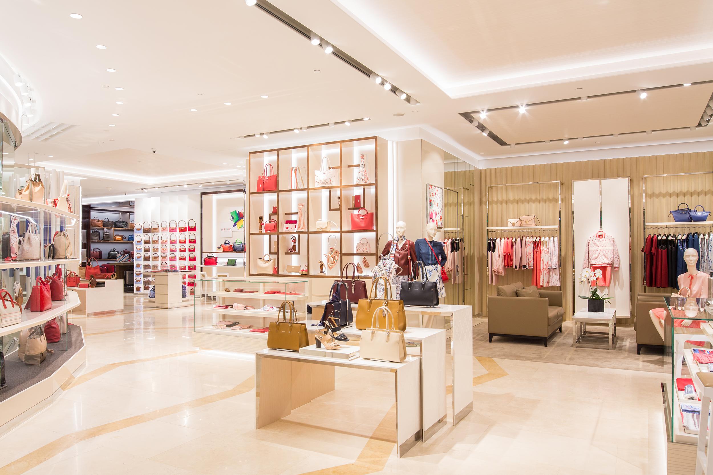 4fdff7de18e Store explore: Longchamp opens its biggest boutique in Southeast Asia