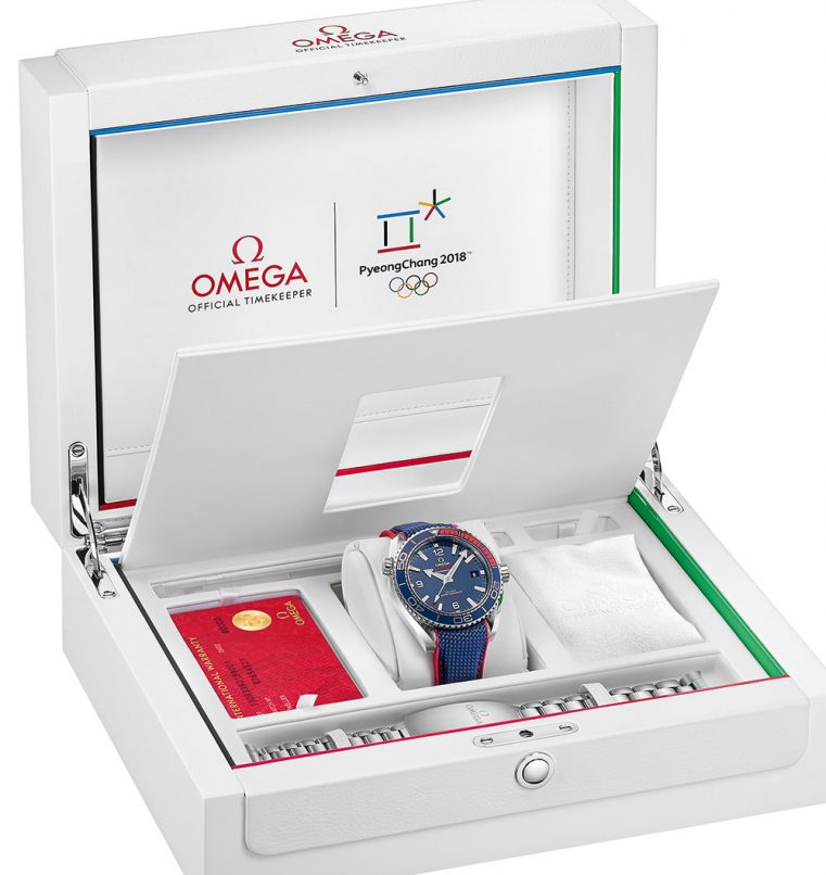 Omega Seamaster Planet Ocean PyeongChang 2018 Olympics watch