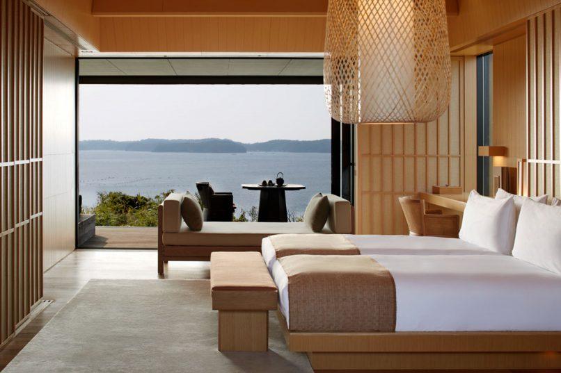 Amanemu - Nagi Suite Bedroom Shima Japan