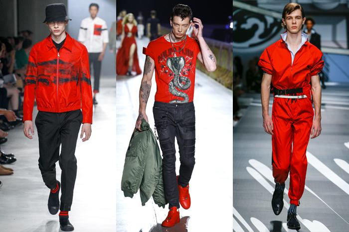 SS18 Menswear Trend