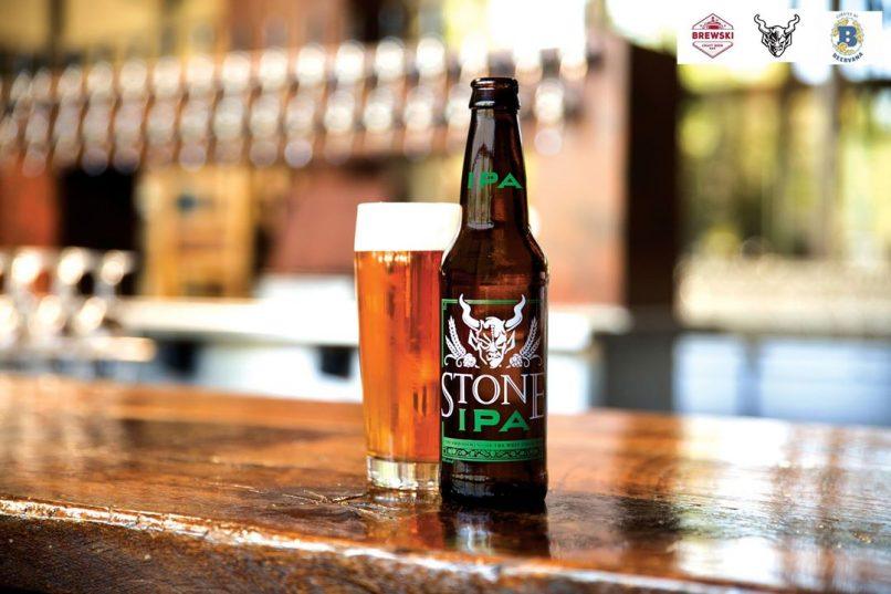 craft beer-pairing dinners in Bangkok - Stone Brewing