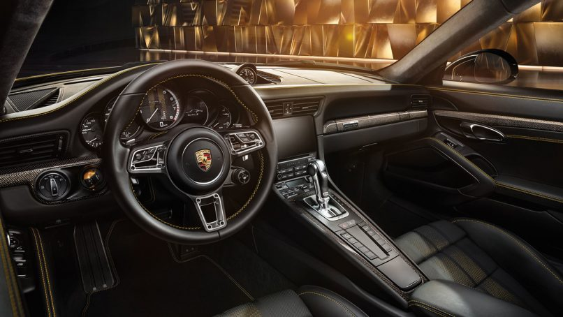 2018 Porsche 911 Turbo S Exclusive Series coupe