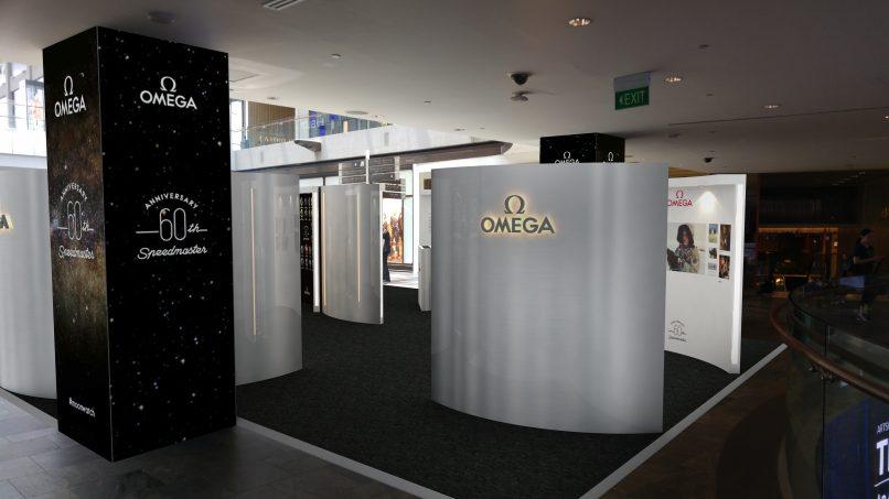 Omega Speedmaster 60th anniversary exhibition