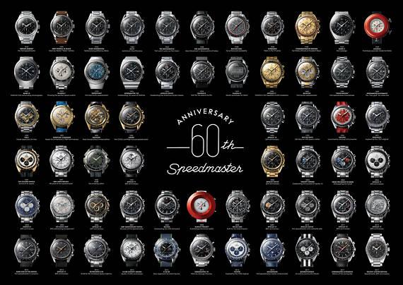 Omega Speedmaster 60th anniversary