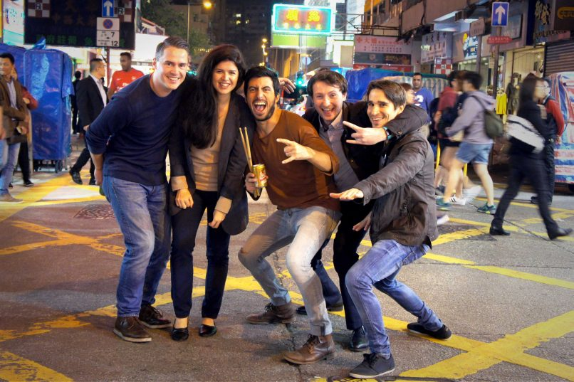 Things to do in Hong Kong - Planetrox China 2017 - Wan Chai Road
