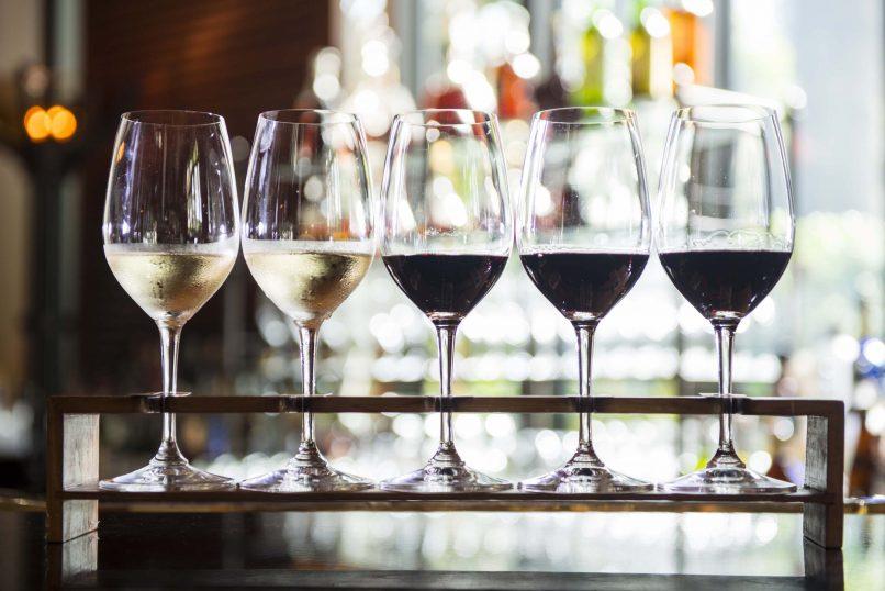 The Peninsula Bangkok wine pairing