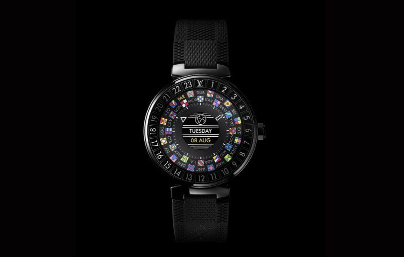 Louis Vuitton Tambour Horizon Black_Face