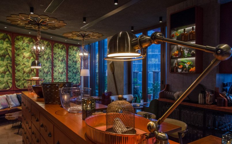 Hong Kong's most stylish restaurant interiors - VEA Lounge