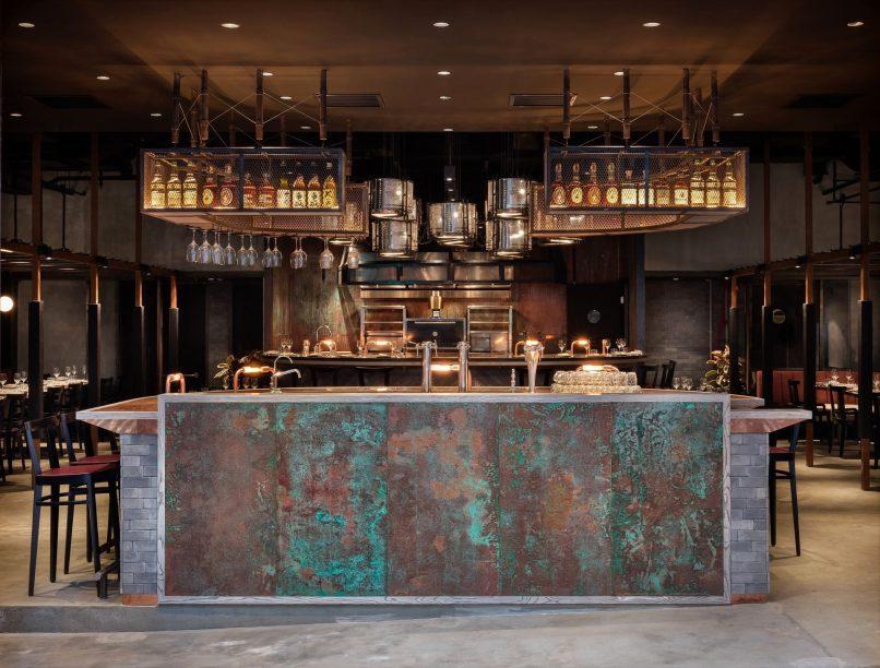 Hong Kong's most stylish restaurant interiors - Rhoda