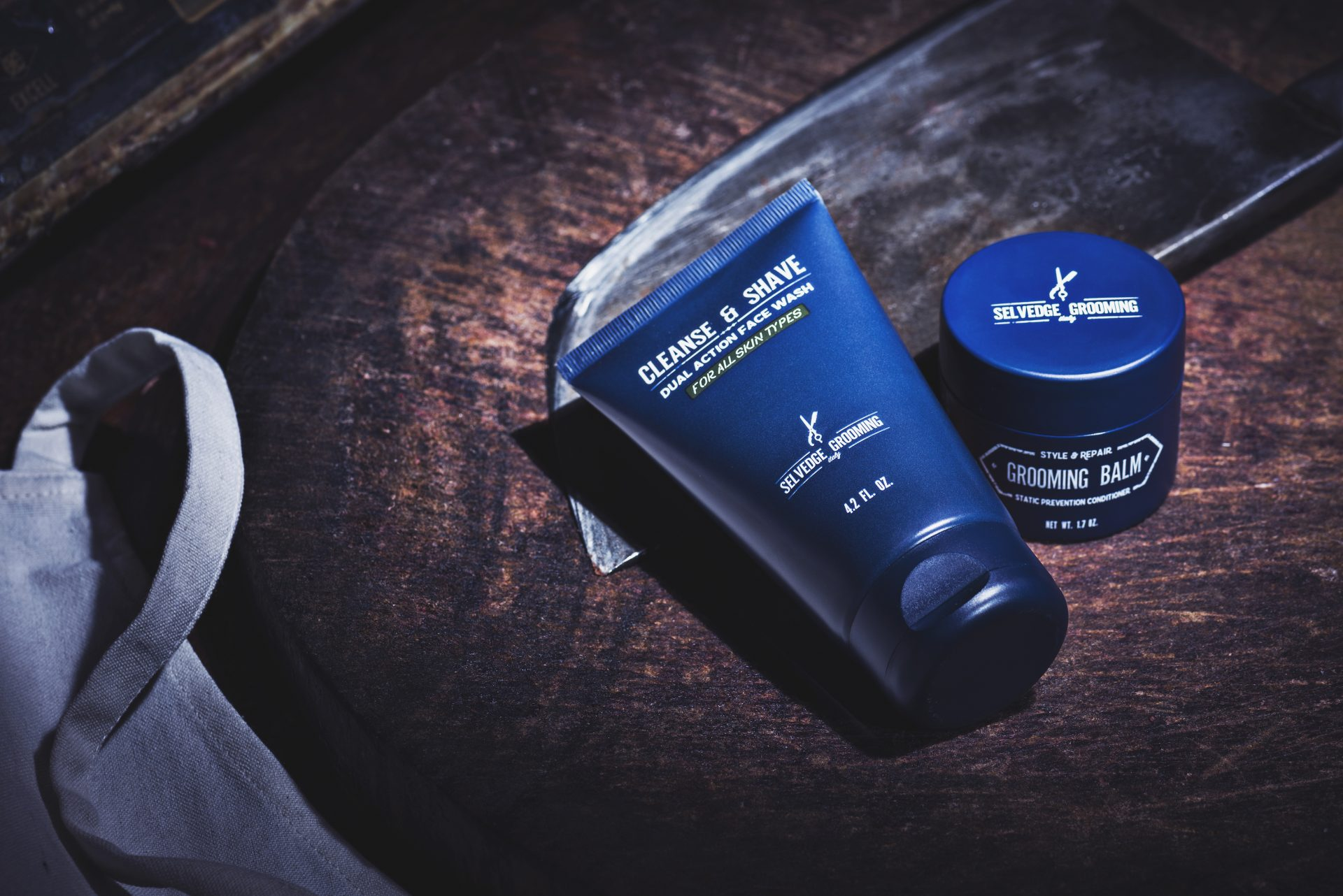 essential men's grooming products