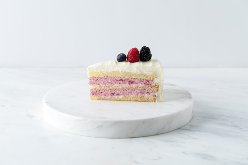 lady m berry berry cake