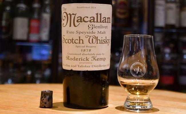 macallan whisky 1878 rare whisky