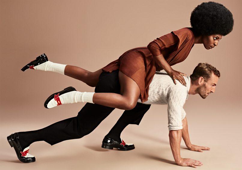 Feminine meets masculine: Christian Louboutin's fall styles 2017