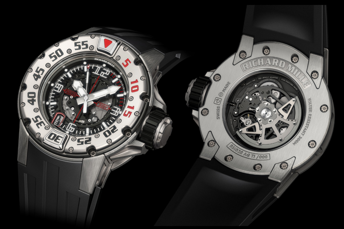 Richard Mille's RM 028 Automatic Diver's Watch