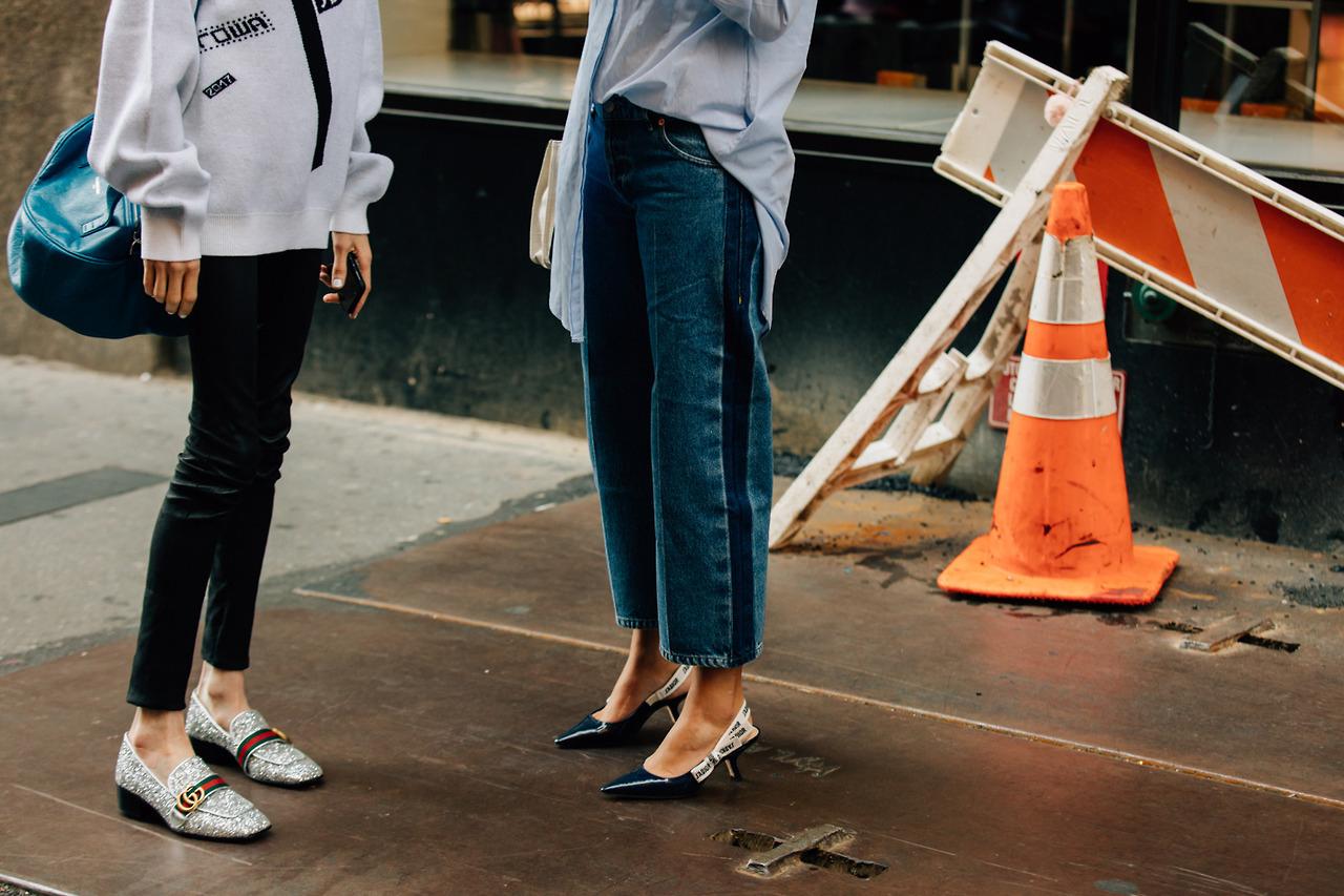 kitten heels street style trends