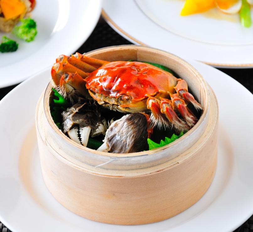 In good taste, crab