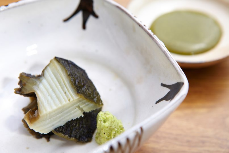Abalone Sushi Shikon Best Bites