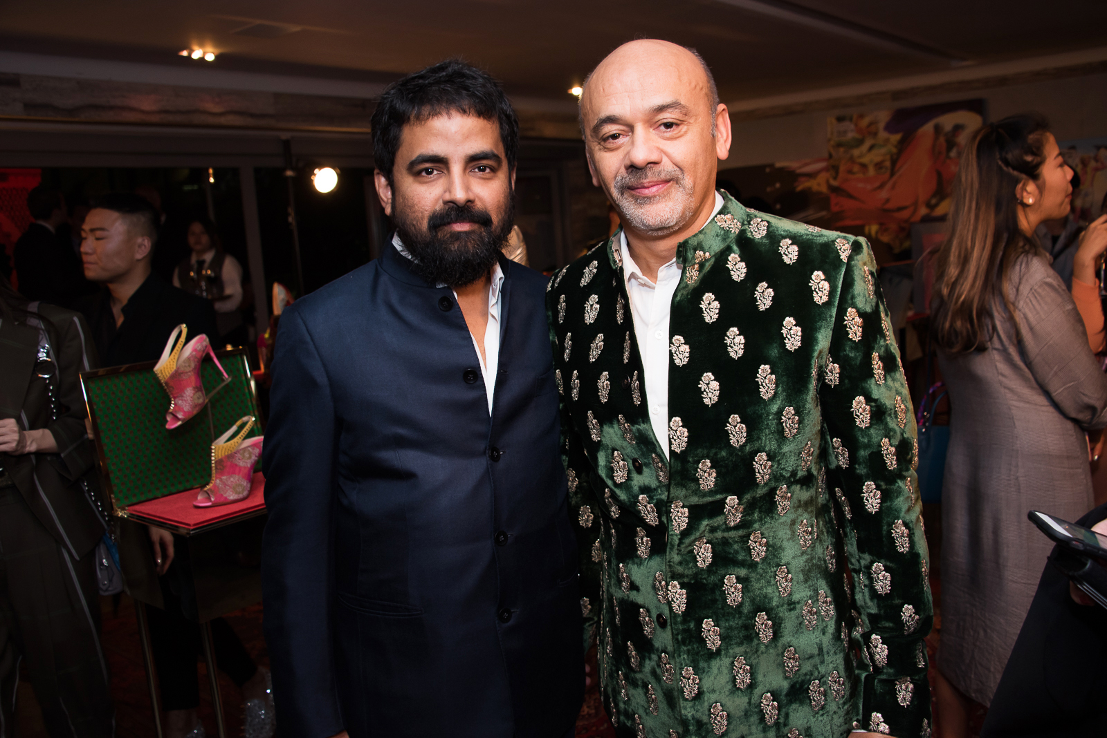 1766324830c Christian Louboutin x Sabyasachi capsule collection private launch