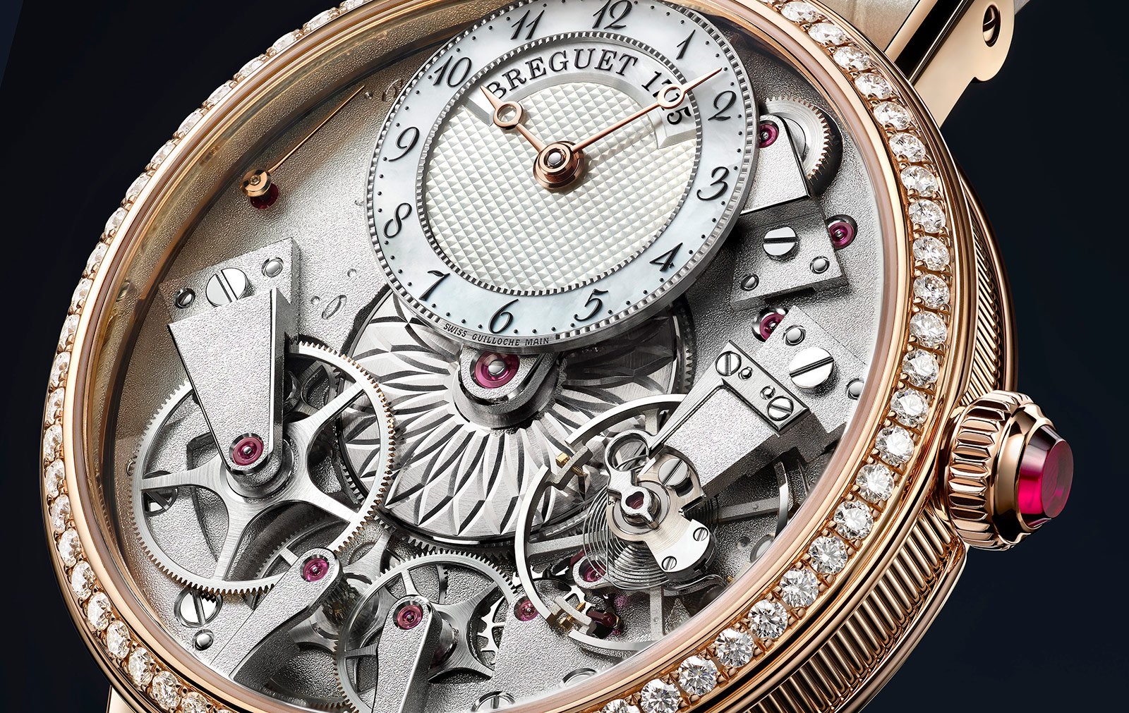 The Breguet Tradition Dame is a mechanical marvel of sophisticated elegance fb7605098b