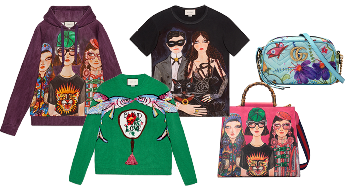 003a184cfe5 Gucci s new capsule collection is our favourite kind of whimsical heaven