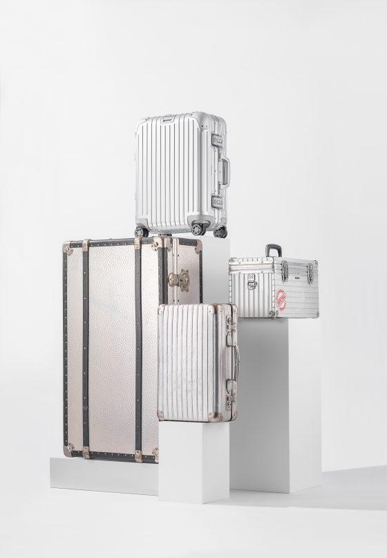 Rimowa's iconic aluminium suitcase