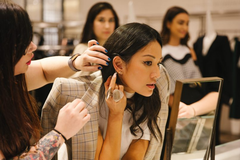 What to do in Hong Kong - Maria Tash Pop Up