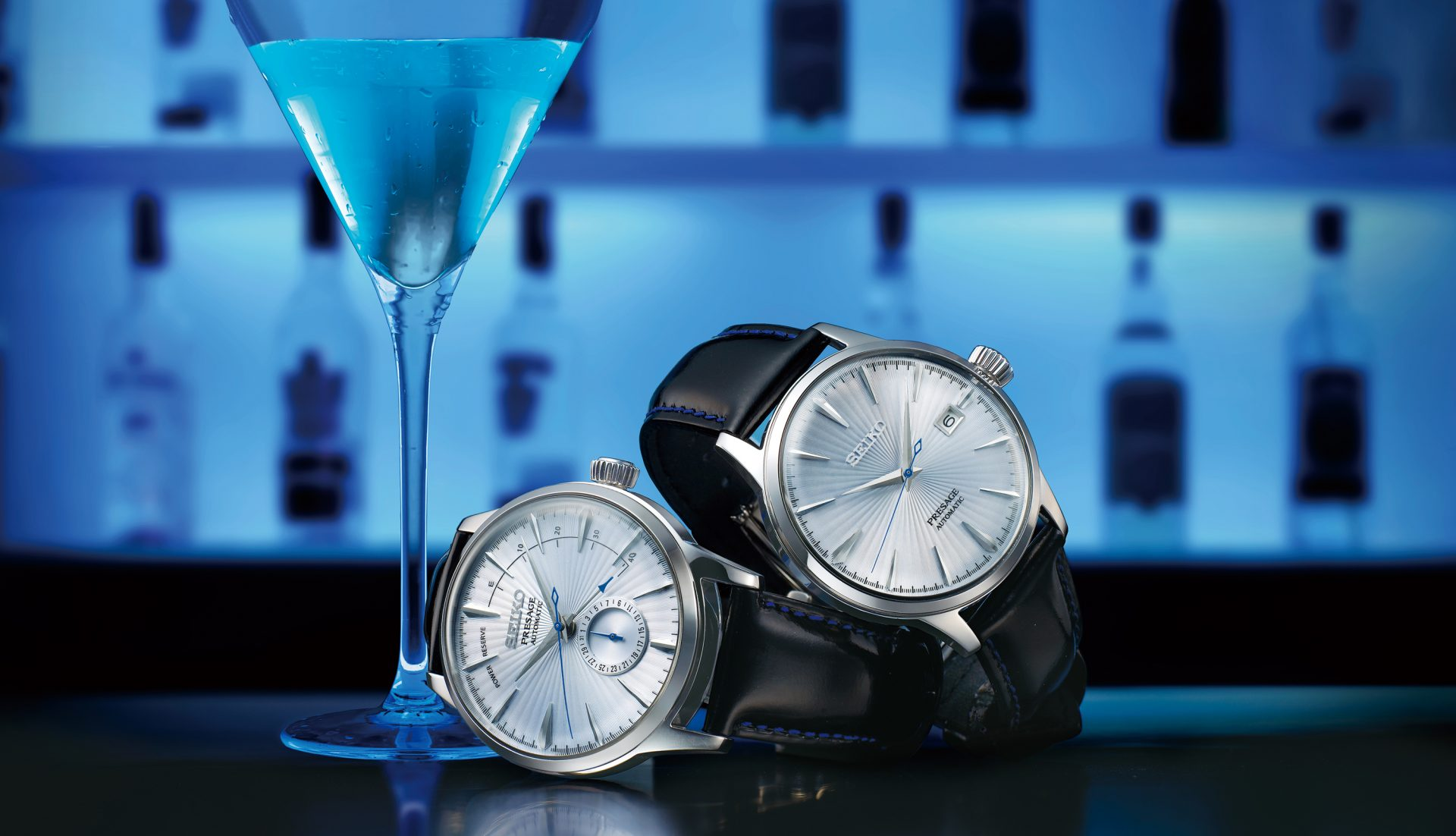 Seiko's newest Presage watches are perfect for cocktail hour
