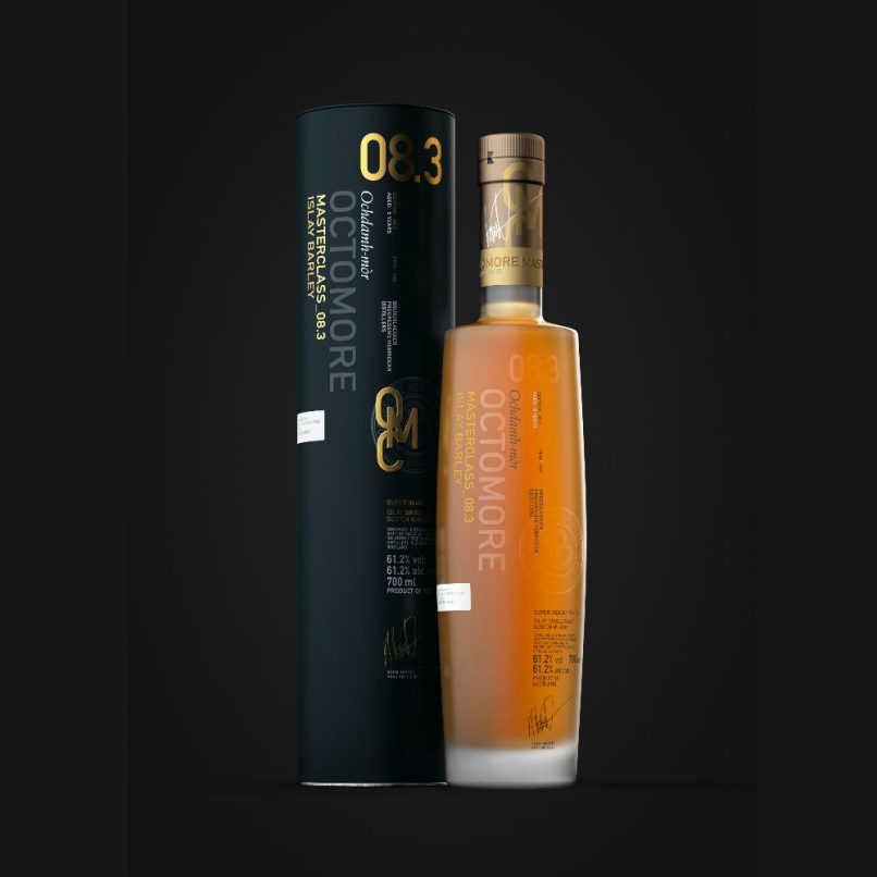 octomore world's most heavily peated whisky