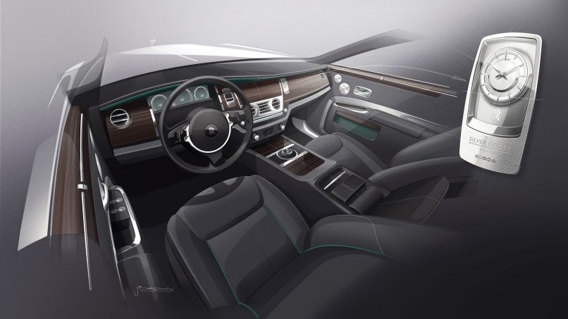 Rolls-Royce Silver Ghost Collection Artwork Interior