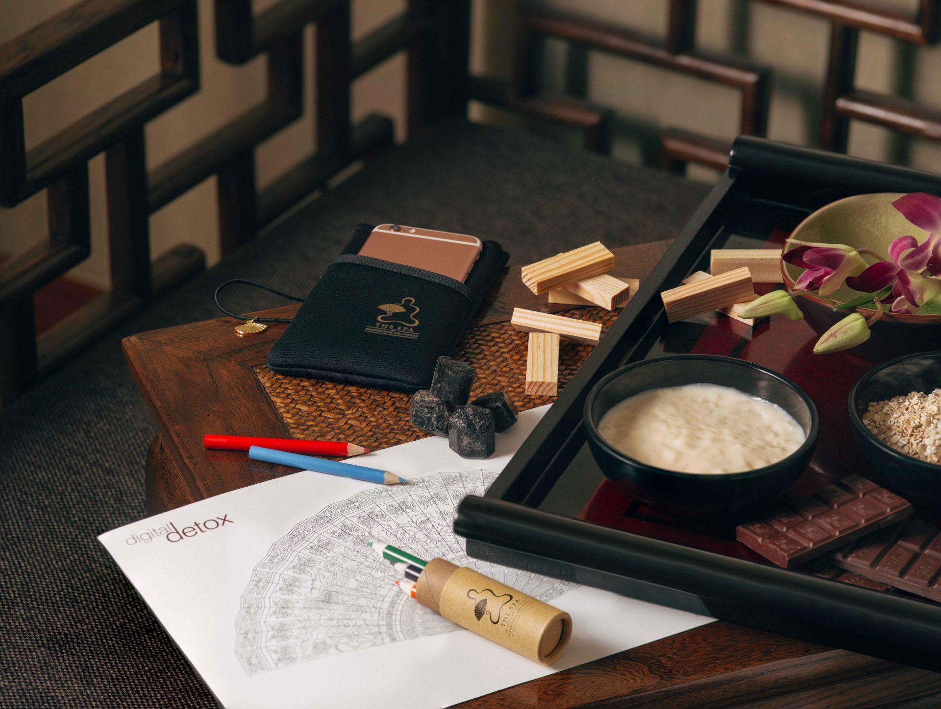 Spa review: The Mandarin Spa's Digital Wellness Escape