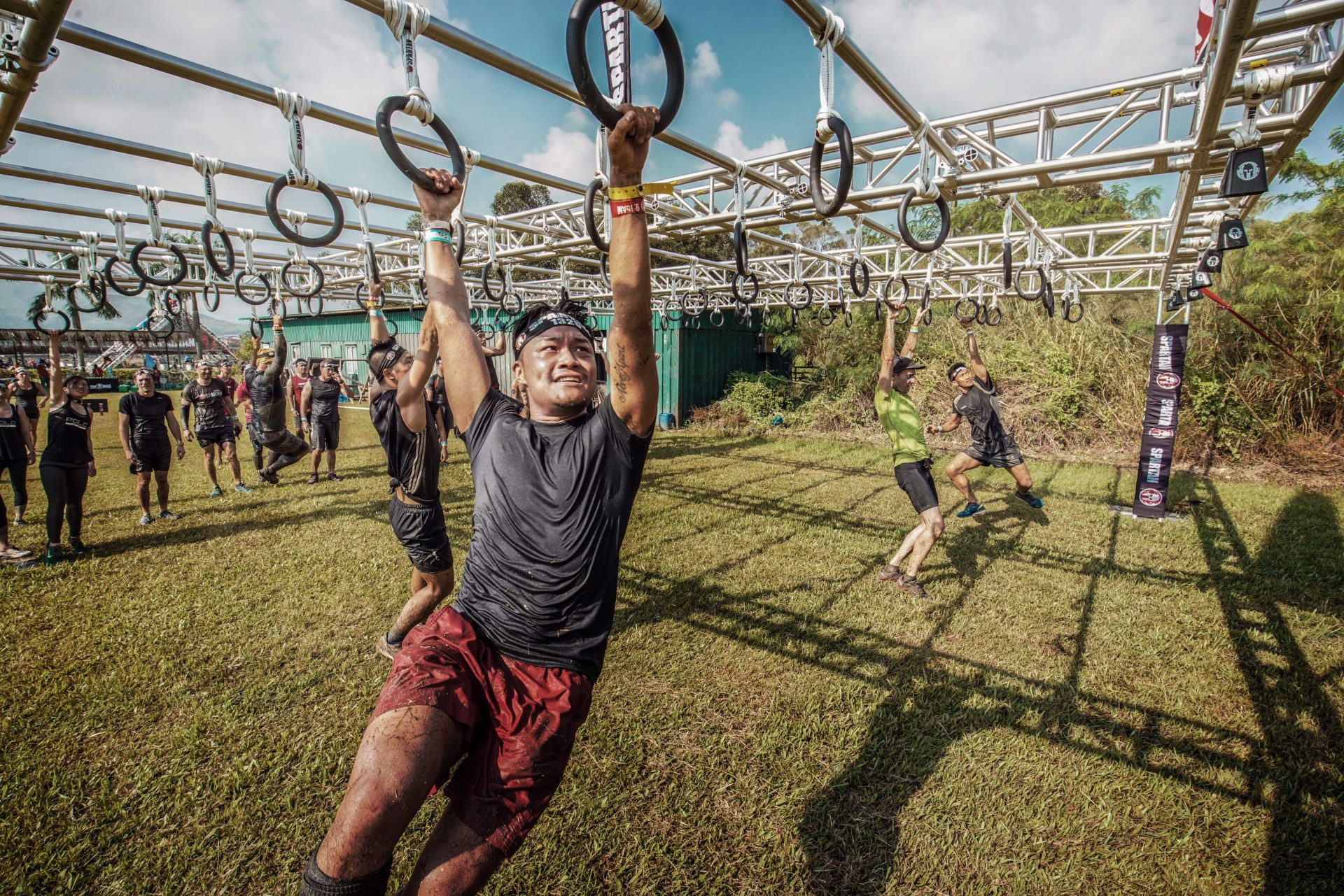 what to do in Hong Kong - Spartan Race