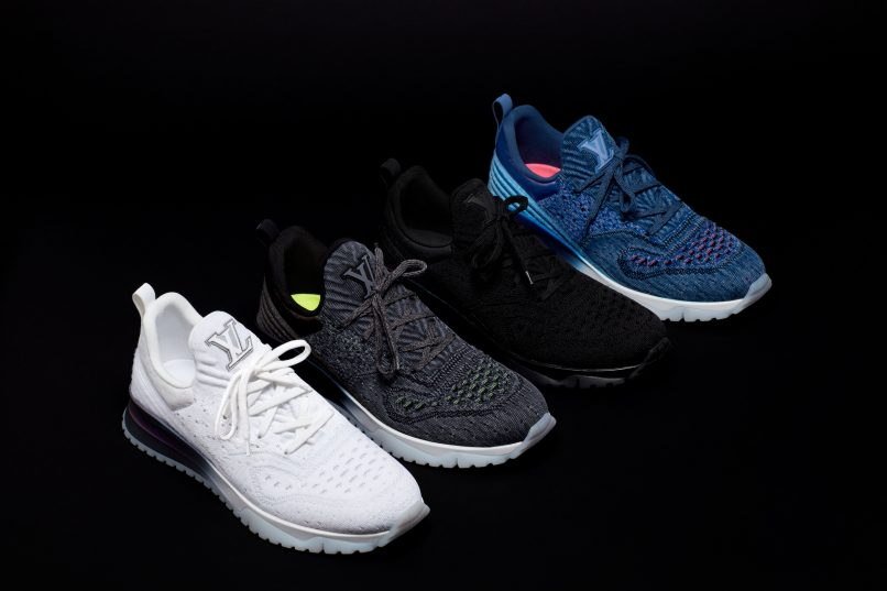 7cf20a1ecf1 Louis Vuitton's new VNR sneakers are fully knitted with performance ...